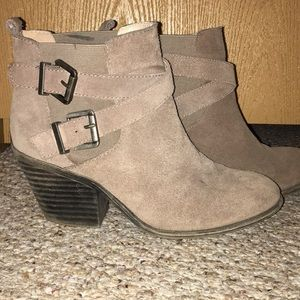 Sole society buckled booties